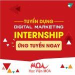 Tuyển Dụng Nhân Viên Thực Tập Digital Marketing
