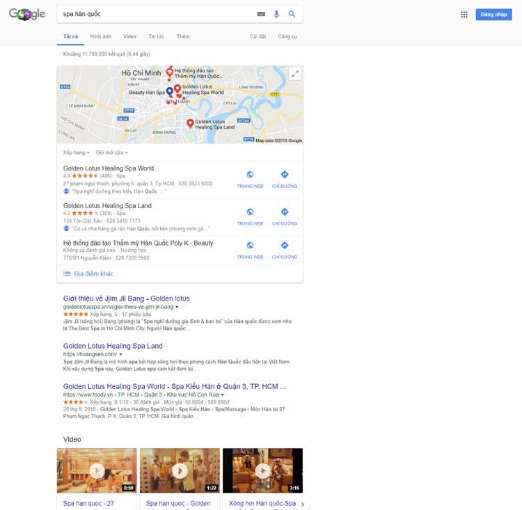 Khóa học Digital Marketing cho dịch vụ Spa