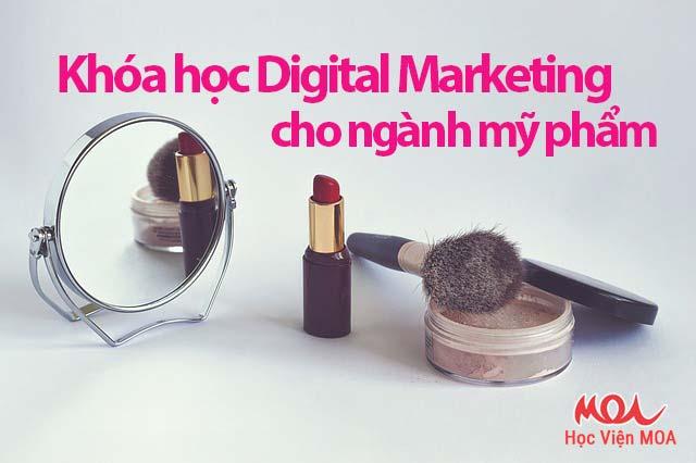 Digital Marketing cho ngành mỹ phẩm
