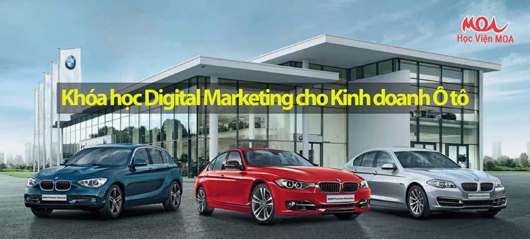 Digital Marketing trong kinh doanh Ô tô
