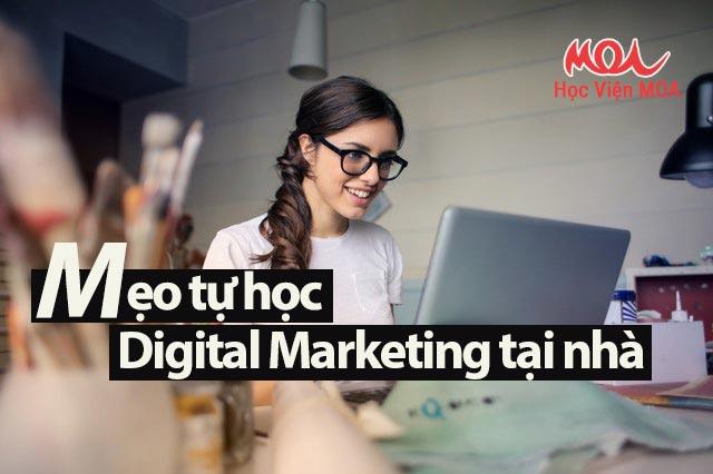 tự học Digital Marketing tại nhà