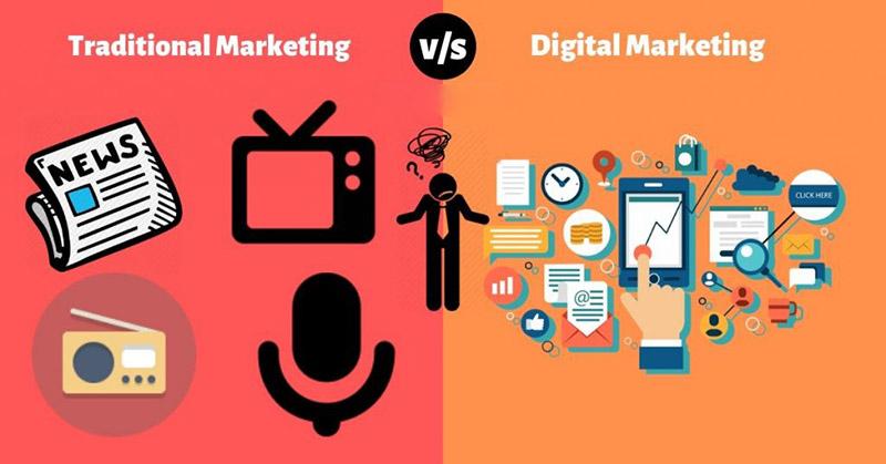 Marketing truyền thống đến Digital Marketing